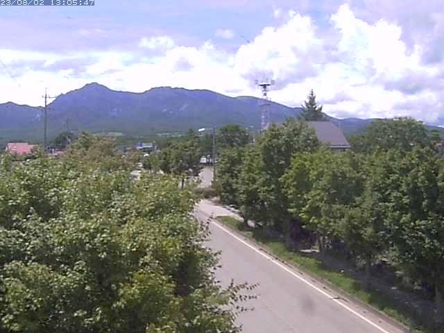 野辺山駅前のライブカメラ